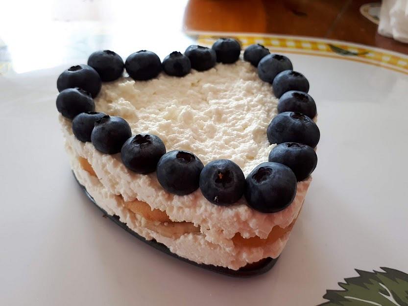 Tvarohový dezert a la Tiramisu - pro nejmenší