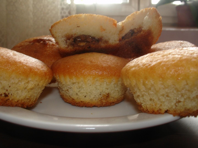 Vanilkové muffiny s toffifee