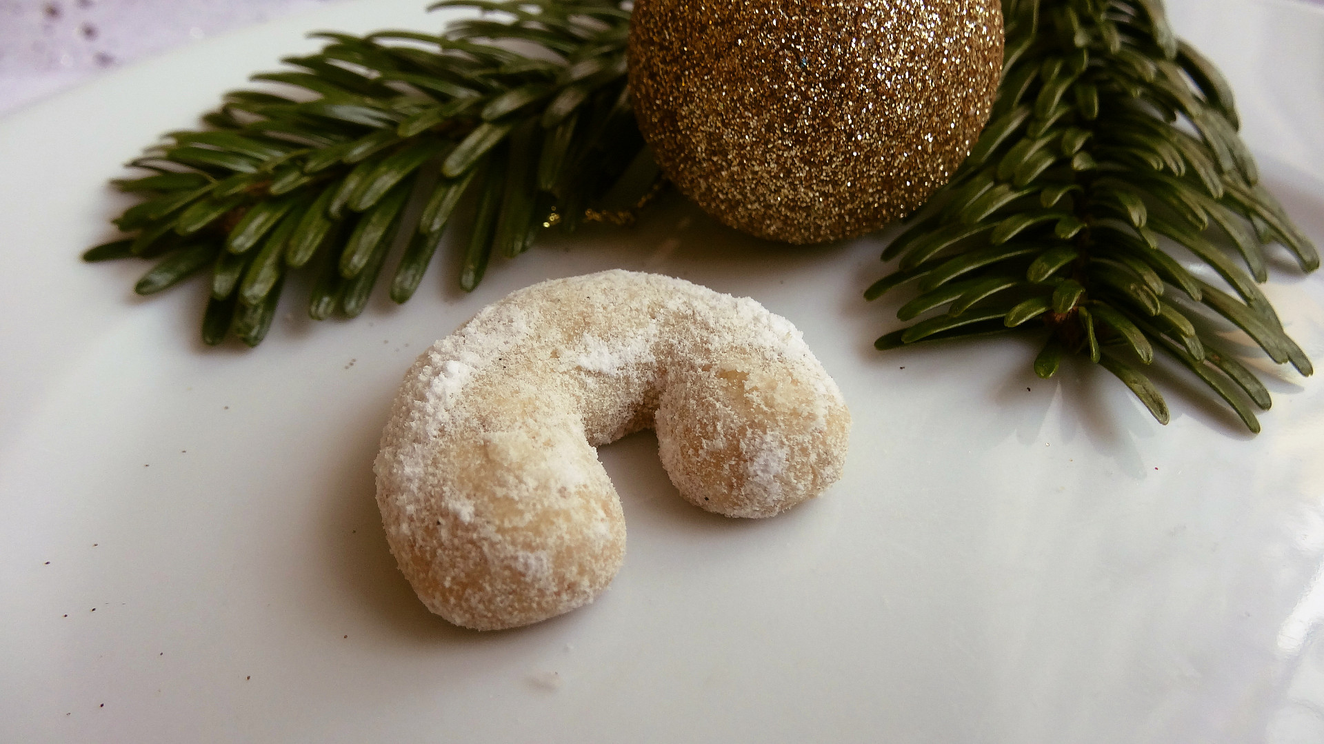 Vanilkové rohlíčky - jednoduchý hrnkový recept
