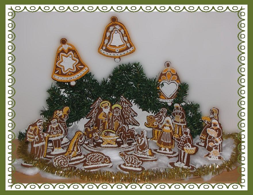Vánoční perníkové dárečky