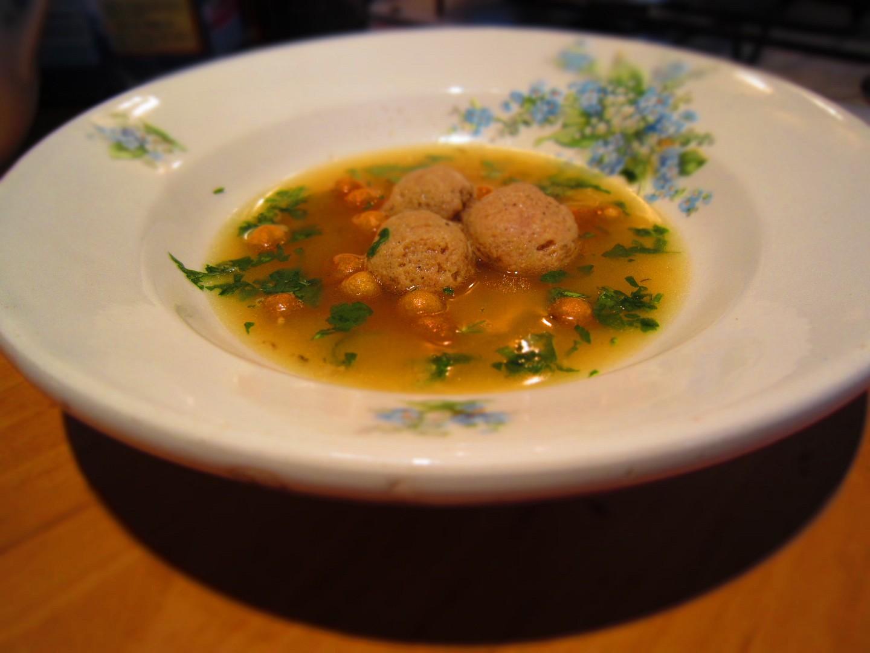 Velejemné knedlíčky do polévky