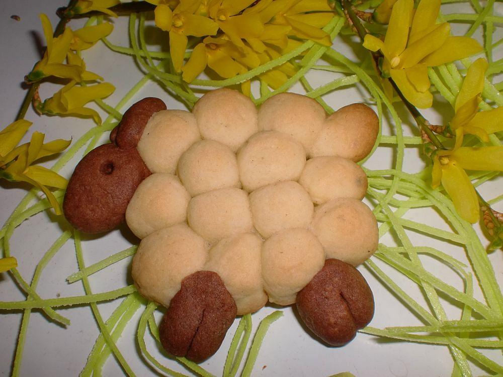 Velikonoční mandlové sušenky
