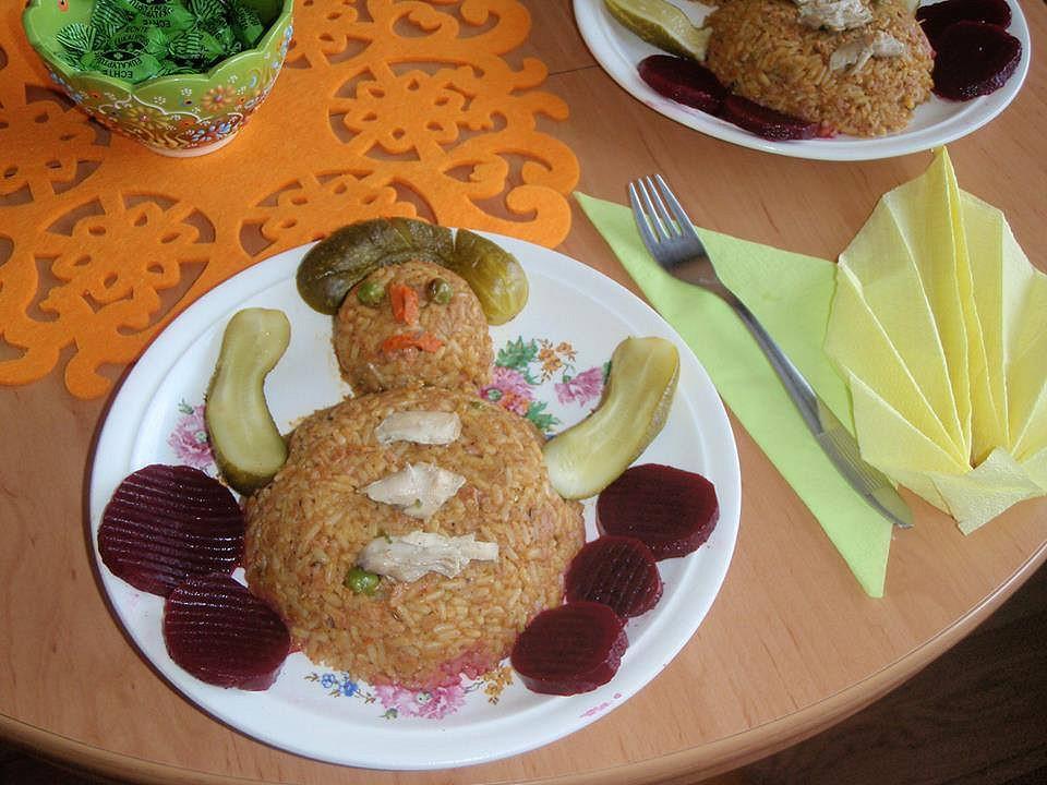 Veselé rizoto ze slepice a zeleniny