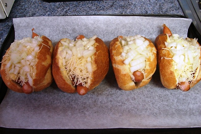 Zapečené Hot-dogy
